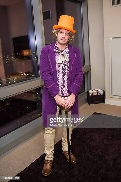 Alex Carr attends the 43rd Annual Village Halloween Parade on October 31 2016 in New York City