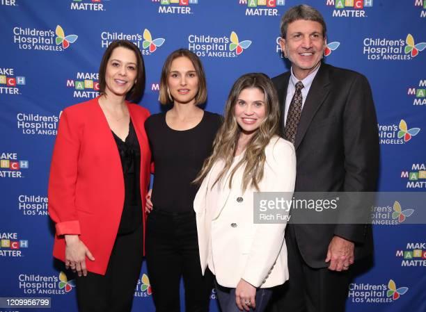 "Alex Carter, Natalie Portman, Danielle Fishel Karp and Paul S. Viviano attend Children's Hospital Los Angeles' 5th annual ""Make March Matter""..."
