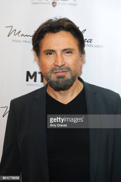 Alex Casalino attends A Night Out a fundraising event benefiting #MoveToEndDV hosted by Beverly Hills plastic surgeon Dr Marc Mani at Alex Casalino's...