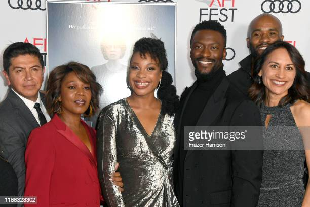 Alex Castillo Alfre Woodard Chinonye Chukwu Aldis Hodge LaMonica Garrett and Michelle Bonilla attend the Clemency Premiere at AFI FEST 2019 presented...