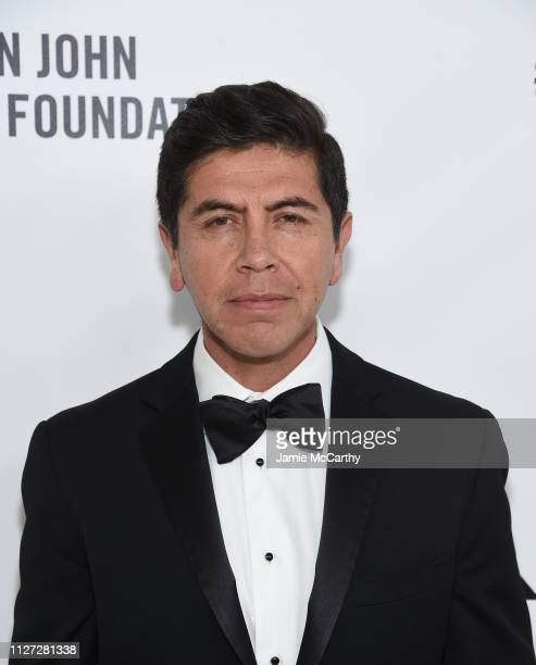 Alex Castillo attends the 27th annual Elton John AIDS Foundation Academy Awards Viewing Party sponsored by IMDb and Neuro Drinks celebrating EJAF and...