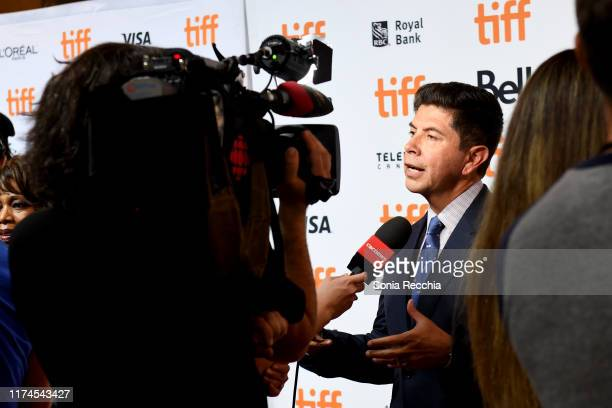 Alex Castillo attends the Clemency premiere during the 2019 Toronto International Film Festival at Roy Thomson Hall on September 13 2019 in Toronto...
