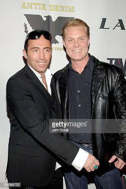 Alex Caugant and Craig Dieffenbach, CEO of Hendrix Electric Vodka