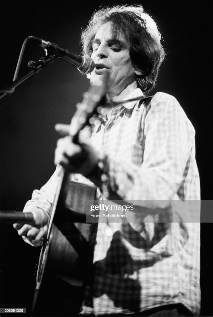 Alex Chilton, guitar-vocal, performs at the Paradiso on 9th January 1992 in Amsterdam, Netherlands.
