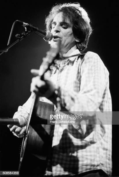 Alex Chilton guitarvocal performs at the Paradiso on 9th January 1992 in Amsterdam Netherlands