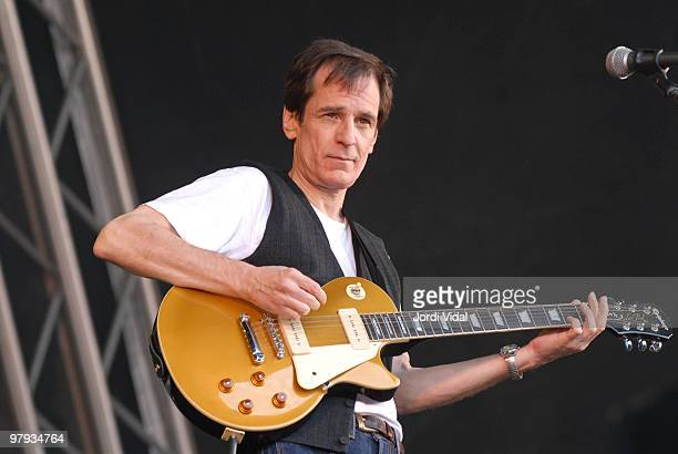 Alex Chilton of Big Star performs on stage during Day 3 of Primavera Sound Festival on June 03 2006 at Parc del Forum in Barcelona Spain