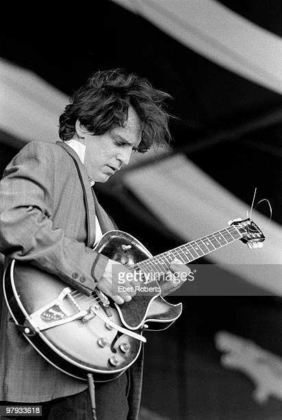 Alex Chilton performs live on stage at the New Orleans Jazz and Heritage Festival in New Orleans Louisiana on May 41995