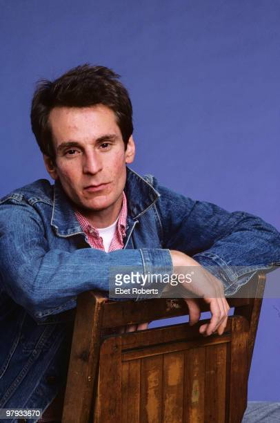 Alex Chilton posed in the photographer's studio in New York City on September 01 1987