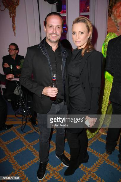 Alex Christensen and his wife Nicole Christensen attend the Movie Meets Media event 2017 at Hotel Atlantic Kempinski on November 27 2017 in Hamburg...