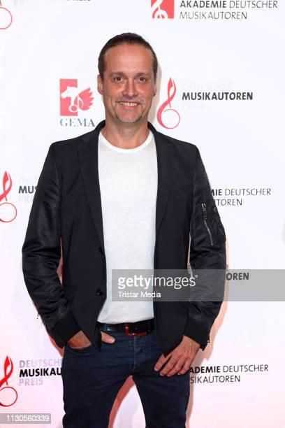 Alex Christensen attends the Deutscher Musikautorenpreis at Hotel The Ritz Carlton on March 14 2019 in Berlin Germany
