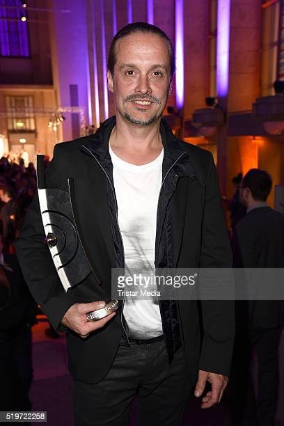 Alex Christensen attends the Echo Award 2016 after show party on April 07 2016 in Berlin Germany