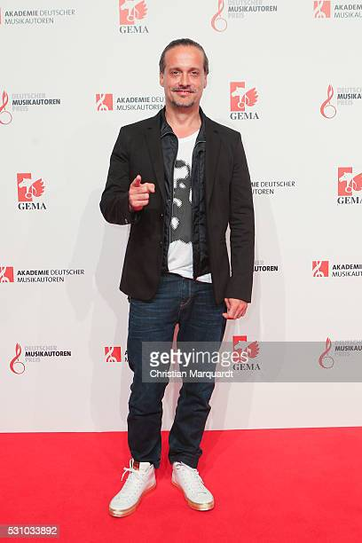 Alex Christensen attends the GEMA Musikautorenpreis 2016 at Hotel RitzCarlton on May 12 2016 in Berlin Germany