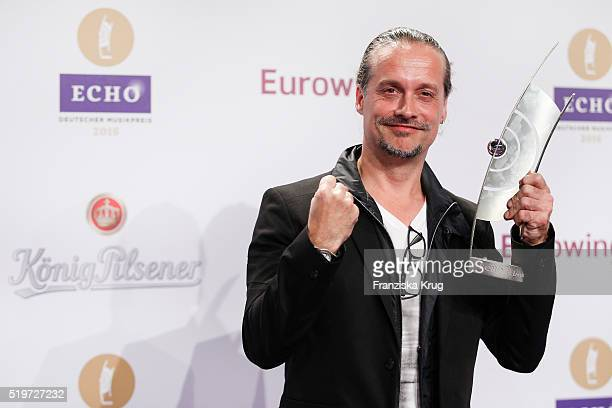 Alex Christensen attends the Koenig Pilsener At Echo Award 2016 on April 07 2016 in Berlin Germany
