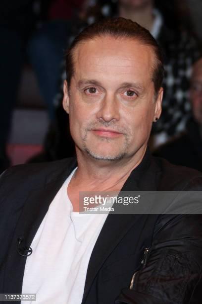 Alex Christensen during the 'Markus Lanz' TV show on March 20 2019 in Hamburg Germany