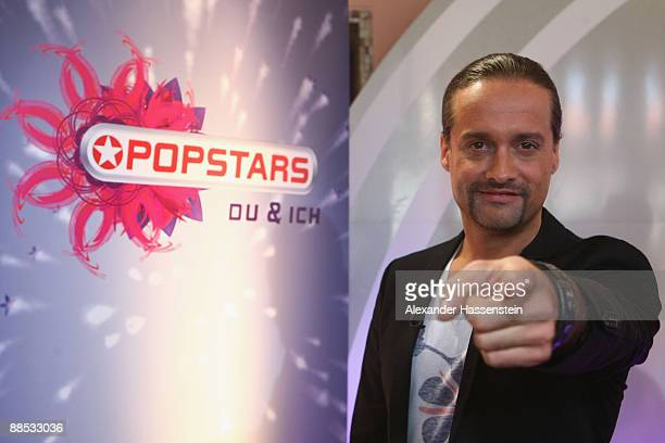 Alex Christensen jury member of the TV Show Popstars You I looks on during the official casting at the Alte Kongresshalle on June 17 2009 in Munich...