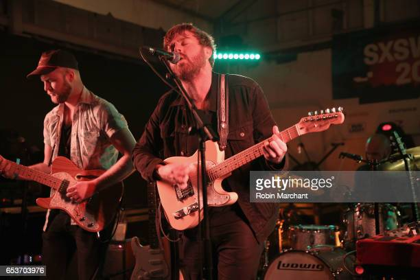 Alex Coleman and Cameron Neal of Horse Thief perform on stage at the Bella Union 20th Anniversary Party at TuneIn Studios @ SXSW 2017 on Wednesday...