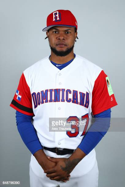 Alex Colome of Team Dominican Republic poses for a headshot for Pool C of the 2017 World Baseball Classic on Monday March 6 2017 at Pirate City in...