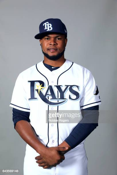 Alex Colome of the Tampa Bay Rays poses during Photo Day on Saturday February 18 2017 at Charlotte Sports Park in Port Charlotte Florida