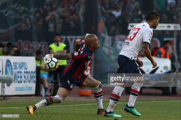 Alex Cordaz during the Italian Serie A football SSC Napoli v FC Crotone at S Paolo Stadium in Naples on May 20 2018
