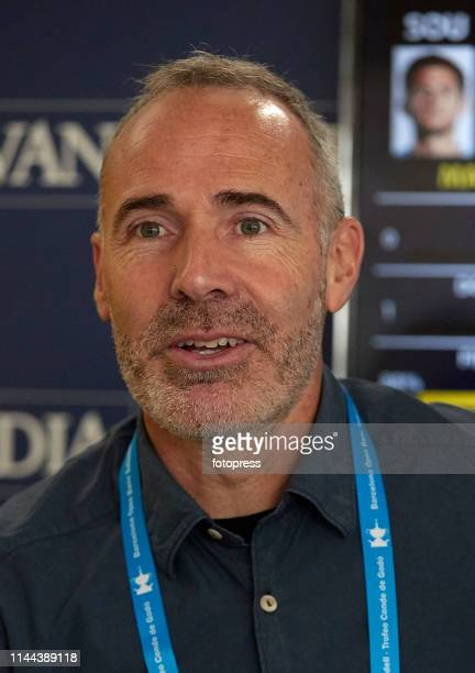 Alex Corretja attends the Barcelona Open Banc Sabadell 2019 at Real Club de Tennis de Barcelona on April 22 2019 in Barcelona Spain