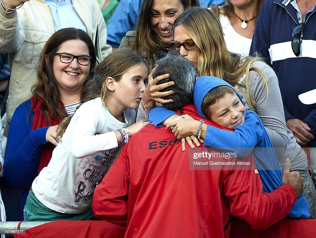 Spain v USA - Davis Cup Semi Final - Day One