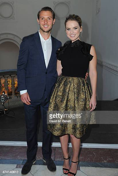 Alex CowperSmith and Alice Eve attend a private dinner to celebrate the opening of the new Max Mara London Flagship store at the Royal Academy of...
