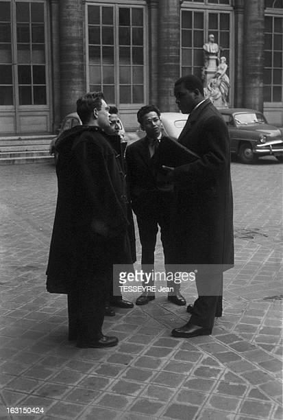 Alex Cressan Actor And Student Paris 15 janvier 1958 Alex CRESSAN Martiniquais étudiant en médecine et acteur dans le film 'Tamango' de John Berry à...