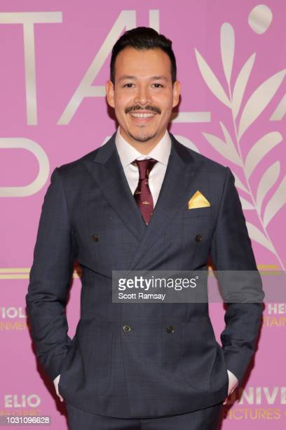 Alex Cruz attends The Italian Party during 2018 Toronto International Film Festival celebrating Excelsis movie at Aqualina at Bayside on September 10...