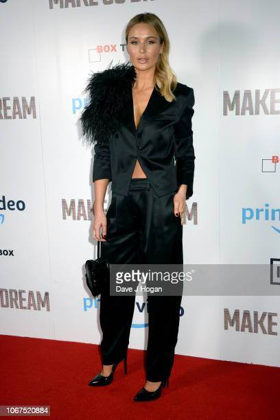 Alex Curran attends the World Premiere of 'Make Us Dream' at The Curzon Soho on November 14 2018 in London England