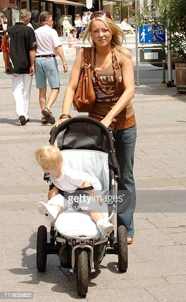 Alex Curran during England Football Players Wives and Girlfriends Sightings June 19 2006 in Baden Baden Germany