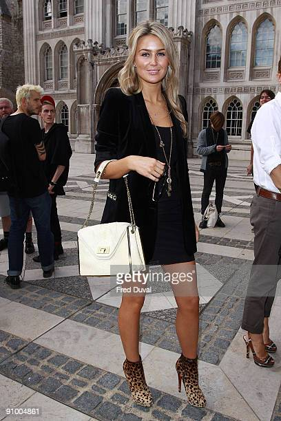 Alex Curran sighting on September 21 2009 in London England