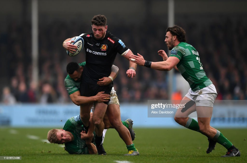 Exeter Chiefs v Newcastle Falcons - Gallagher Premiership Rugby : ニュース写真