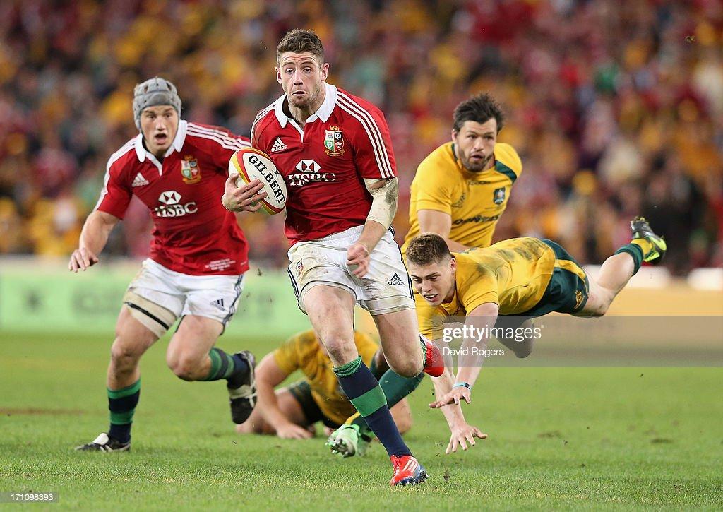 Australia v British & Irish Lions: Game 1 : News Photo