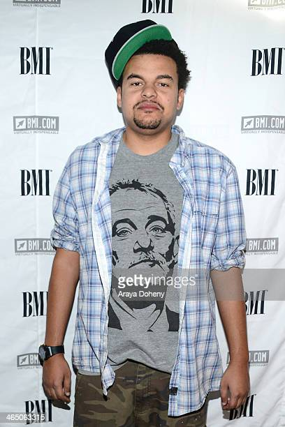 Alex Da Kid at BMI's How I Wrote That Song panel at House of Blues on January 25 2014 in West Hollywood California