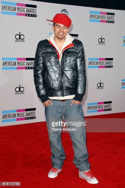 Alex da Kid attends 2010 American Music Awards Arrivals at Nokia Theatre on November 21 2010 in Los Angeles California