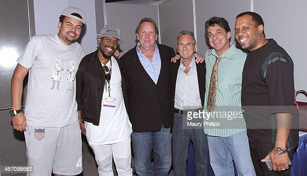 Alex Da Kid Michael Bearden Ed Cherney Al Schmitt Niko Bolas and NOID attend GRAMMY SoundTables Songs That Move The Needle at the Los Angeles...