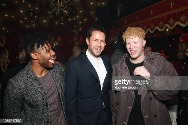 Alex da Kid Paul Johansson and Shaun Ross attend The Grand Opening Of Raspoutine Los Angeles With treats Magazine on January 18 2019 in West...