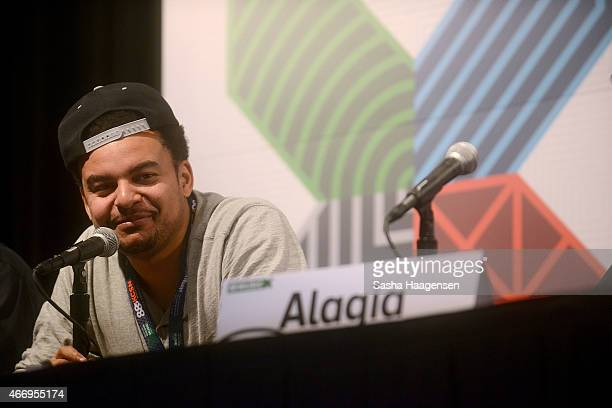 Alex Da Kid speaks on the Grammy Producers on the Record panel during SXSW at Austin Convention Center on March 19 2015 in Austin Texas