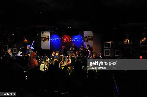 Alex Dankworth performs during Ronnie Scott's British Jazz Festival at Ronnie Scott's Jazz Club on August 9, 2010 in London, England.