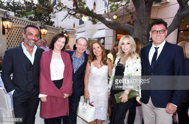 Alex Dastmachi Margaret O'Leary Bill Green Karine Ohana Anastasia Soare and Gert Kerkstoel attend Ohana Co LA Event Brands With Mission at The...