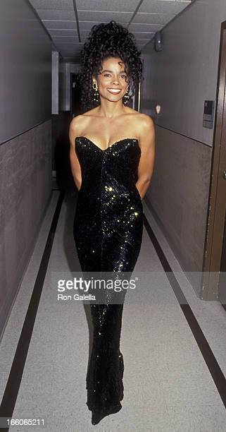 Alex Datcher attends the taping of The Bob Hope Special on September 4 1991 at NBC Studios in Burbank California