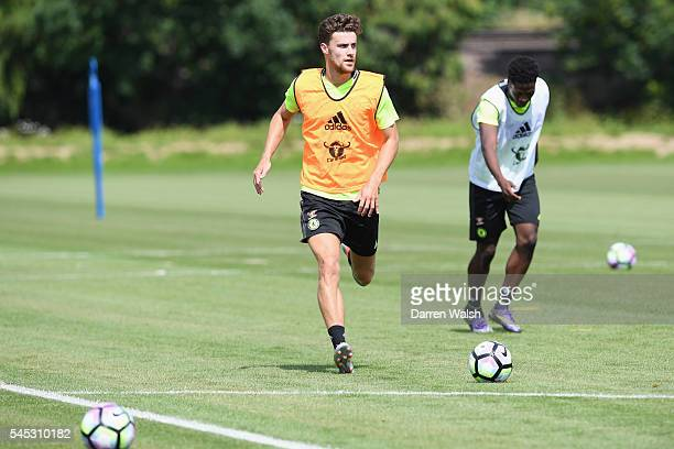 Alex Davey at Chelsea Training Ground on July 6 2016 in Cobham England