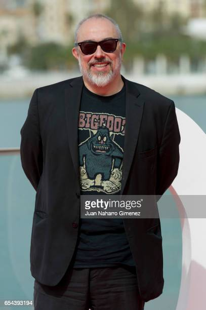 Alex de la Iglesia attends 'El Bar' photocall at Muelle Uno on March 17 2017 in Malaga Spain