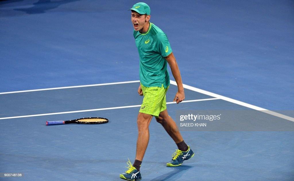TOPSHOT-TENNIS-ATP-WTA-AUS : News Photo