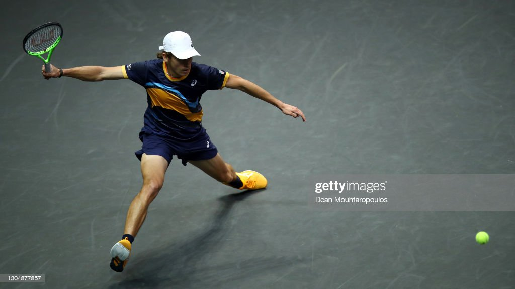 48th ABN AMRO World Tennis Tournament - Day Two : ニュース写真