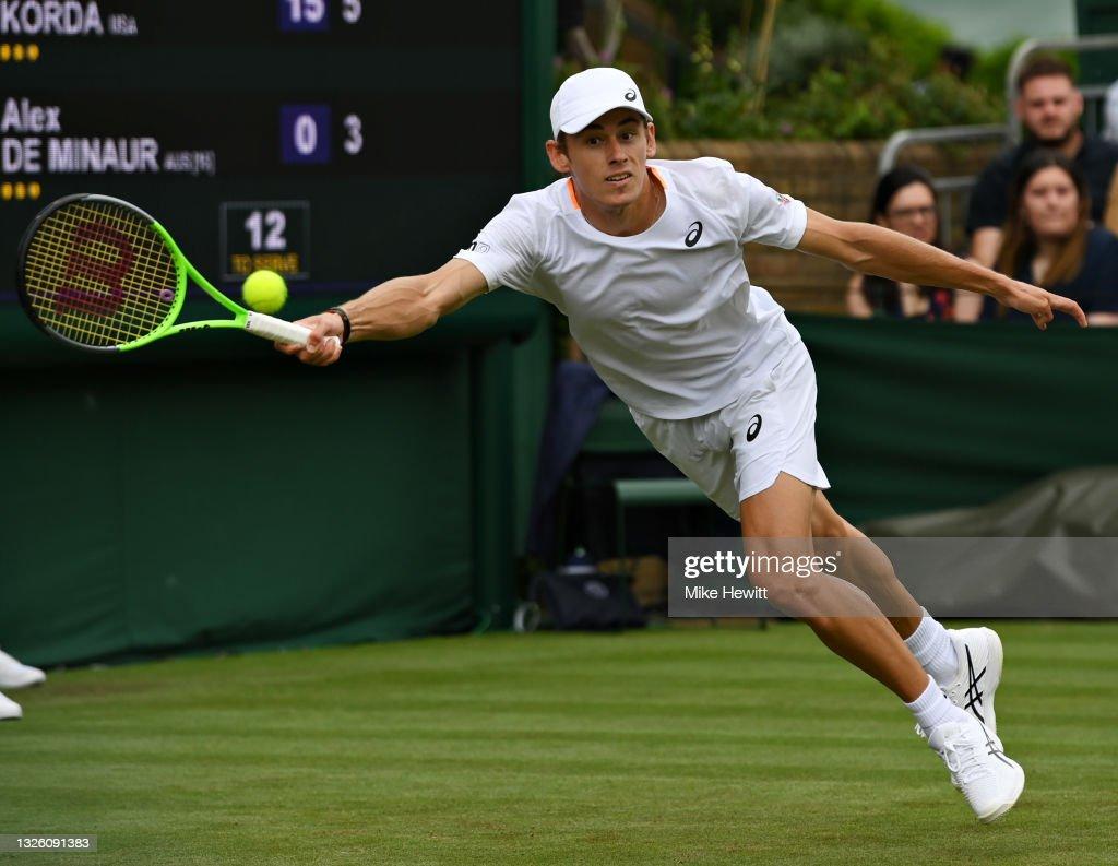 Day Two: The Championships - Wimbledon 2021 : News Photo