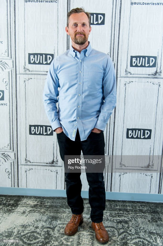 Alex De Rakoff discusses 'Snatch' with the Build Series at Build Studio on March 13, 2017 in New York City.