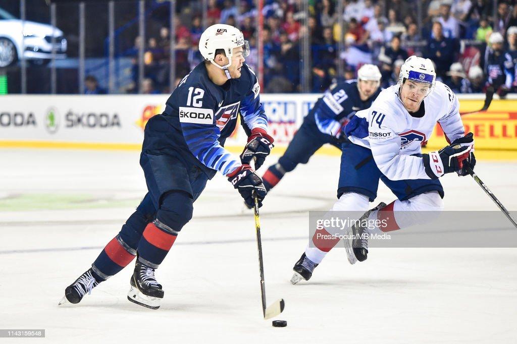 United States v France: Group A - 2019 IIHF Ice Hockey World Championship Slovakia : News Photo