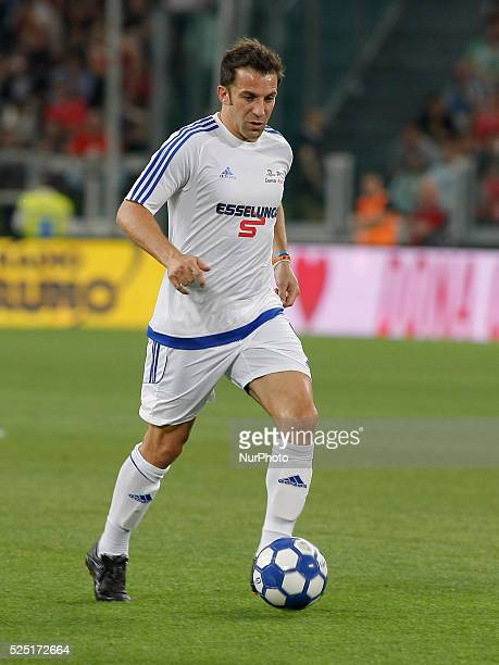 Alex Del Piero during the Partita del Cuore match between Nazionale Cantanti and Campioni per la Ricerca at the Juventus Stadium of Turin on june 23...