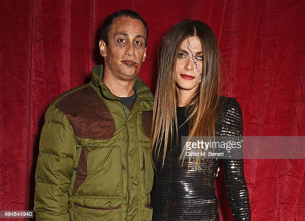 Alex Dellal and Elisa Sednaoui attend The Unicef UK Halloween Ball raising vital funds to support Unicef's lifesaving work for Syrian children in...